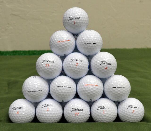 36 Titleist Velocity 5A White Golf Balls