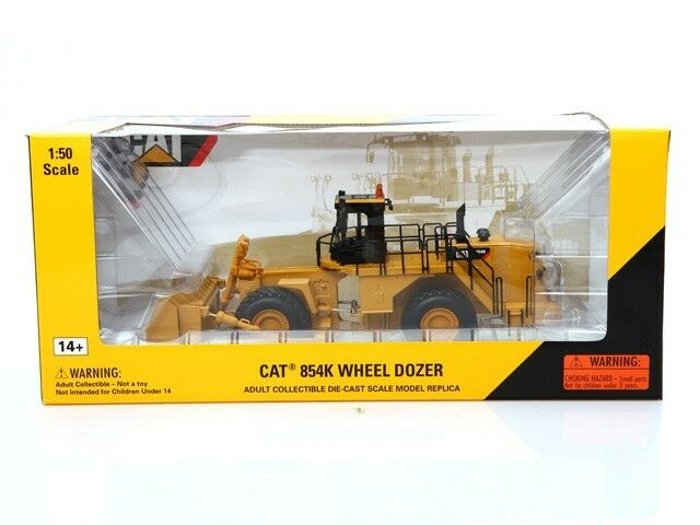 CAT CATERPILLAR 854K WHEELED DOZER 1 50 DIECAST MODEL BY NORSCOT 55231