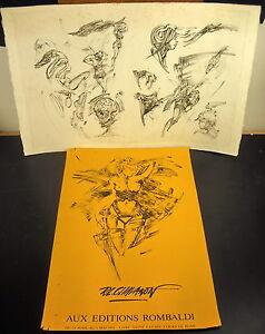 * Gravure num 11/175 signée Roger-Louis CHAVANON Vanité Memento Mori Etching