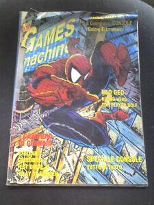 THE GAMES MACHINE n.27 Gennaio 1991 96 pagine SPEEDBALL 2 STELLAR 7 STRIDER - Italia - THE GAMES MACHINE n.27 Gennaio 1991 96 pagine SPEEDBALL 2 STELLAR 7 STRIDER - Italia