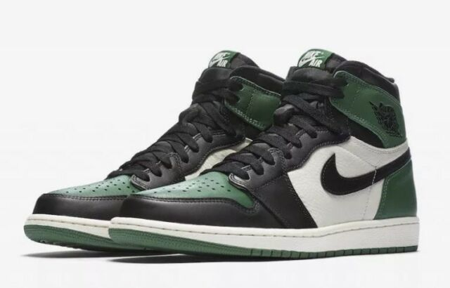 dea70b89ef6918 Men's Nike Air Jordan 1 OG Pine Green Sneaker 555088 302 Size Men's 10.5 Retro  1
