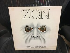 Zon Astral Projector Lp Epic 1978 Vg Blue Wax Canada
