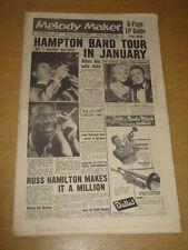 MELODY MAKER 1957 OCTOBER 5 LIONEL HAMPTON JAYNE MANSFIELD RUSS HAMILTON +