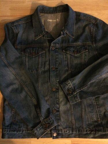 Western Trucker Heavy Xl Denim Jacket Blue Mid Streetwear Gap 1969 Rocker Duty 7wxq0YAnB