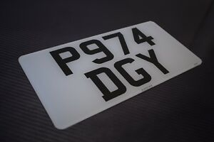 12-x-6-Front-American-Import-Road-Legal-Number-Plates-100-MOT-Compliant