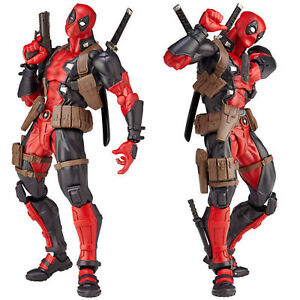 Quality-X-Men-Yamaguchi-Marvel-Revoltech-Kaiyodo-DEADPOOL-Action-Figure-Toy-Gift