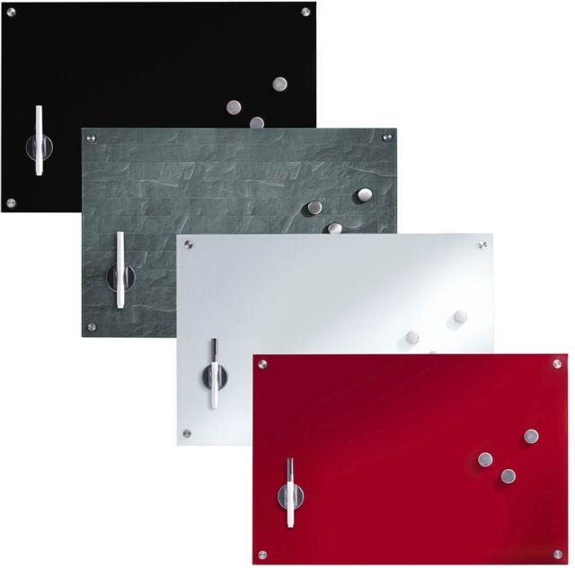 Glas Memoboard 60 x 40cm Magnettafel Whiteboard Schreibtafel Glastafel Wandtafel