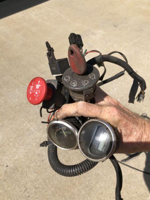 Craftsman Gt5000 Wiring Harness Switches Ignition Key Choke Throttle Kohler 25