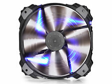 DEEPCOOL XFAN 200 B Semi Transparent Black Fan 200mm with Blue LED