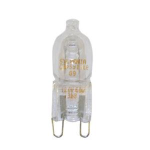 Osram Sylvania 40w 120v T4 G9 2 Pin Halogen Light Bulb Ebay