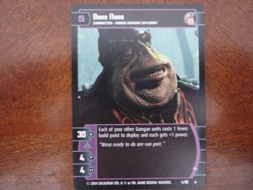 Star Wars TCG TPM Boss Nass A