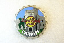 CARDIFF,Hard Rock Cafe Pin,Bottle Cap Series