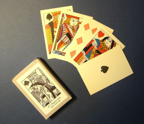C17th//C18th Civil War//Napoleonic//Regency historic reproduction playing cards