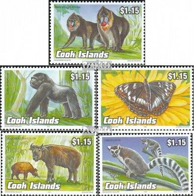 Cookinseln 1385-1389 Mint Never Hinged Mnh 1993 Affected Animals Do You Want To Buy Some Chinese Native Produce?