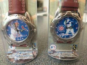 McGwire-Sosa-Sports-Superstars-Watch-Avon-Chicago-Cubs-St-Louis-Cardinals