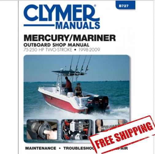 Free Mercury Outboard Motor Repair Manuals