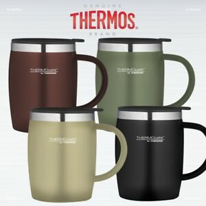 Image Is Loading Thermos Thermocafe Soft Touch Desk Mug 450 Ml
