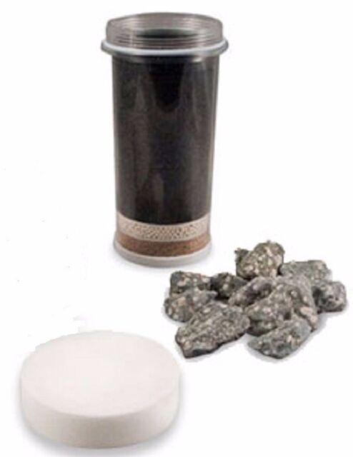 nikken pimag aqua pour gravity replacement filters-cartridge sponge ...