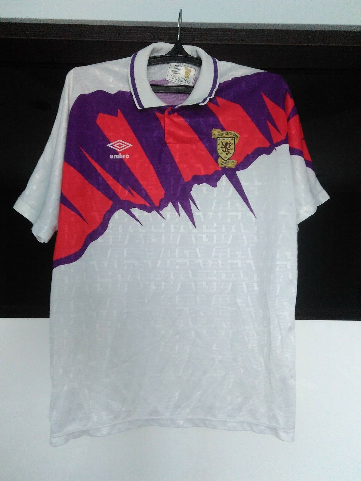 Scotland national 1991 - 1993 away football shirt jersey Umbro