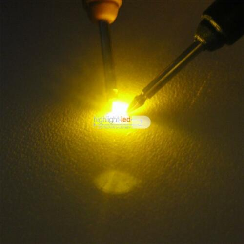 100 SMD LED 0603 amarillo Mini LED amarillas inauguraba Yellow Geel