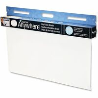 Acco Brands Corporation Dry-erase Sheets Tear Off Shts 40ft Rl 15 Sht/rl White on sale