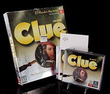 Vintage PC Computer CD Game Clue Big Box