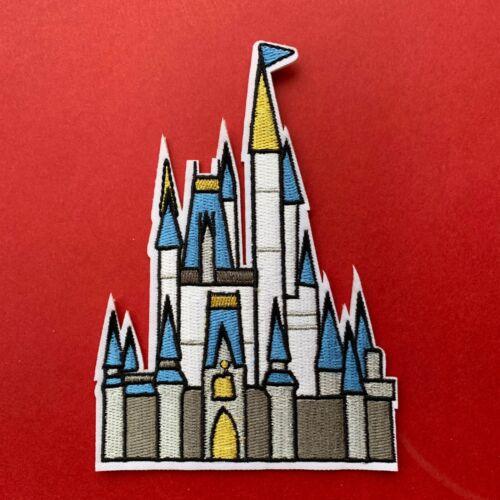 Castillo De Princesas De Disney Disneylandia inspirado Parche bordado apliques coser hierro
