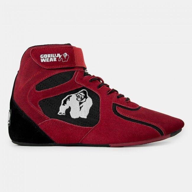 Gorilla Wear Chicago High Tops Red
