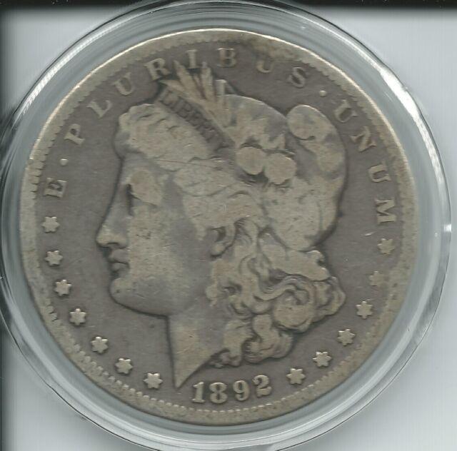 Morgan Dollar  (1892-CC) SKU#6333