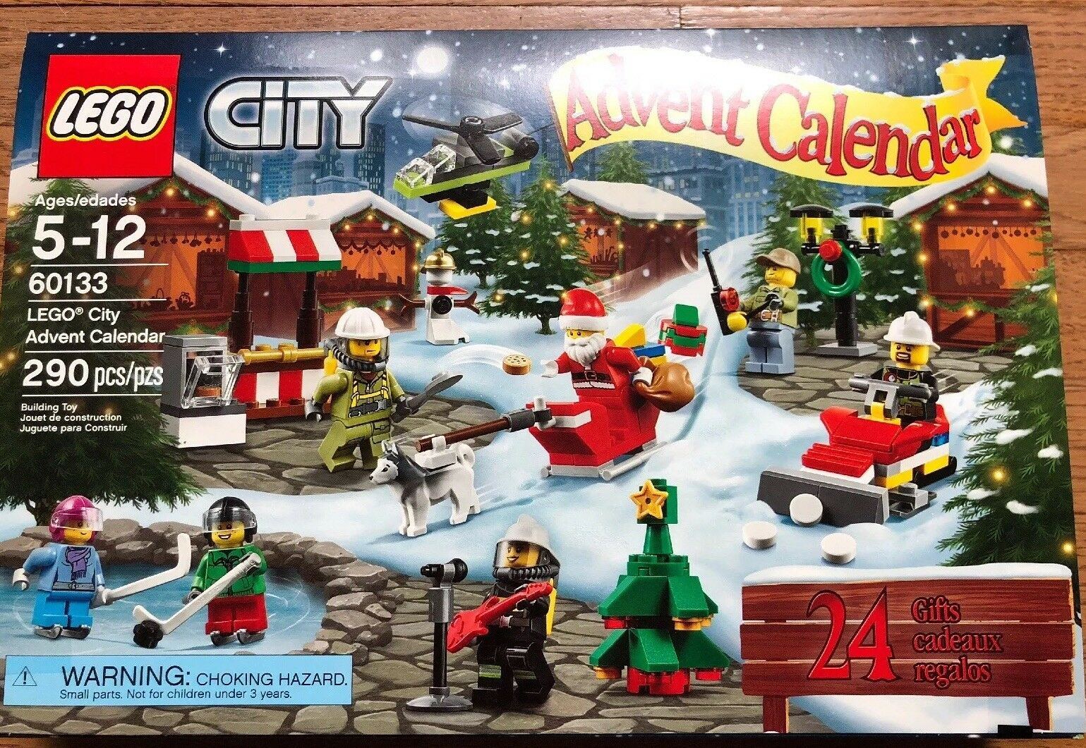 Lego City Advent Calendar 2016   60133 New In Box