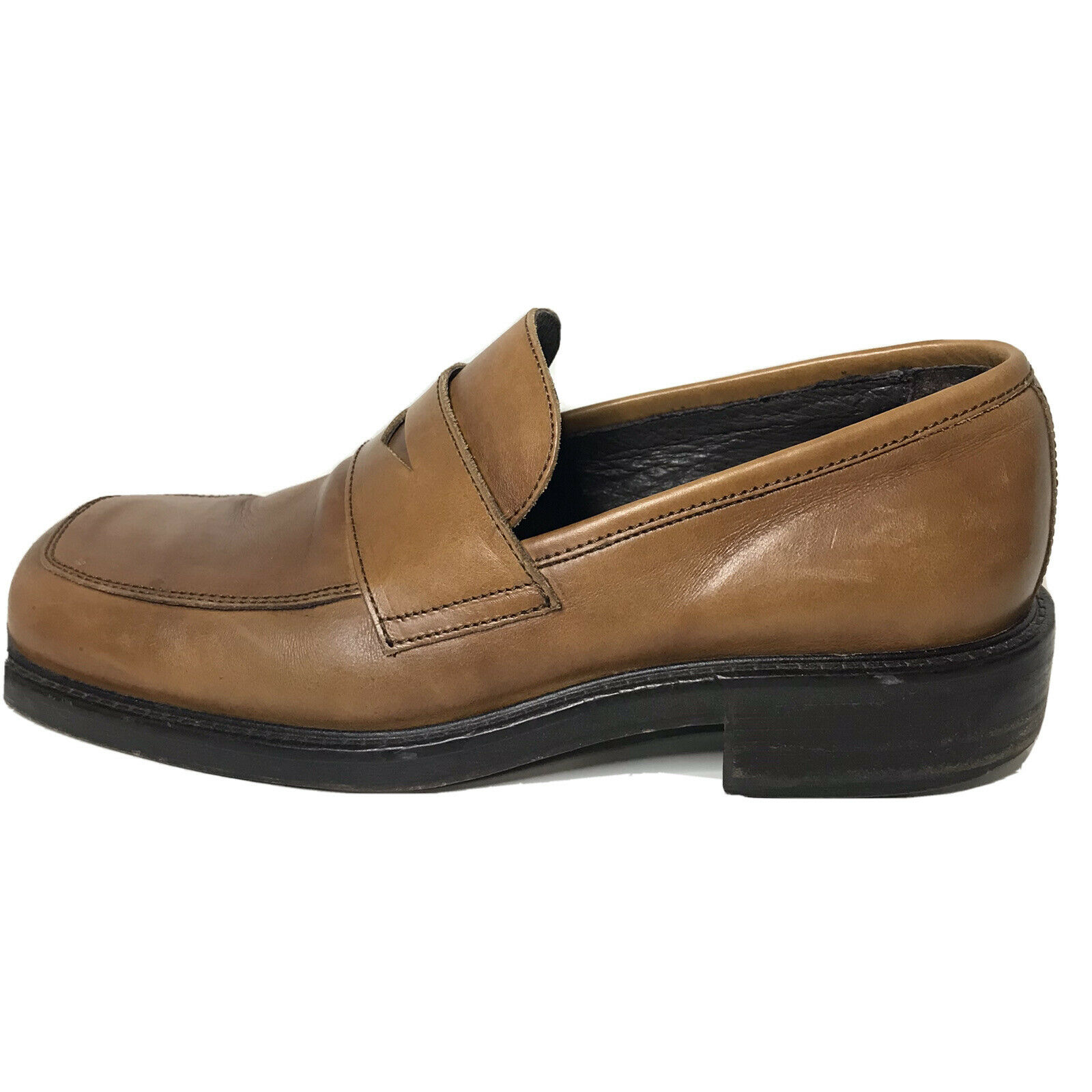 Kenneth Cole New York Men's Leather Slip-On Loafer Shoes Sz 8 A215