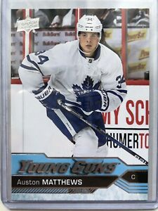 Details About 2016 17 Upper Deck Young Guns Auston Matthews Rookie 201 Toronto Maple Leafs Rc