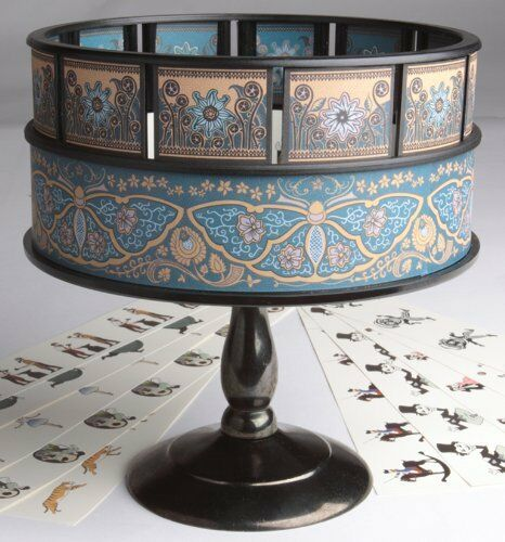 Zoetrope Animation Classic Vintage Optical Illusion Toy   Zoetrope
