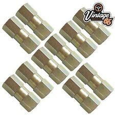 Land Rover Freelander Male Brake Pipe Nuts 10mm x 1mm Pitch AUTOMEC Brass 10
