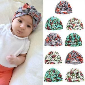 aa317c3bfb8 Cute Newborn Baby Girl Infant Toddler Kids Soft Cotton Cap Beanie ...