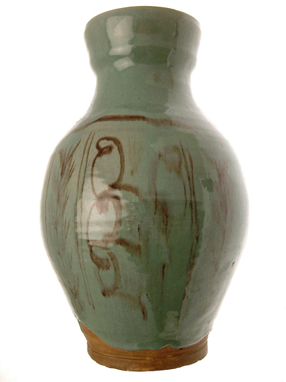Studio Cerámica regate Esmaltado grandes wjm arte florero de cerámica