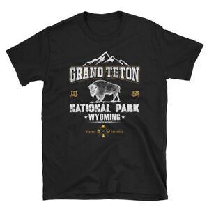 Vintage-Style-National-Park-Grand-Teton-Wyoming-Short-Sleeve-Unisex-T-Shirt