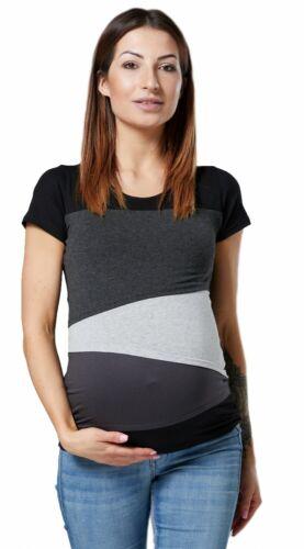 Zeta Ville para mujer doble capa de Enfermería Top diseño de bloque de color Embarazo 159p