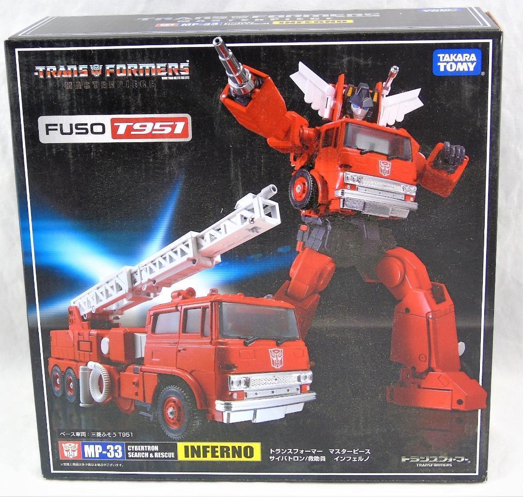 Transformers Takara Masterpiece MP-33 Inferno sin usar y en caja sellada