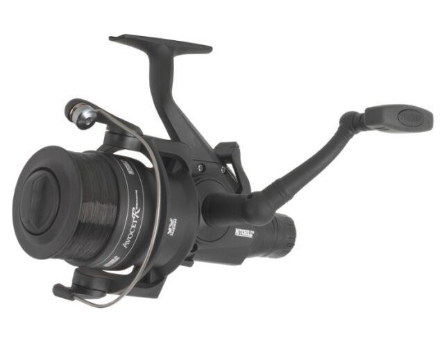 Mitchell Avocet FS 6500R Black Edition Freilaufrolle inkl. Monofilschnur Rolle