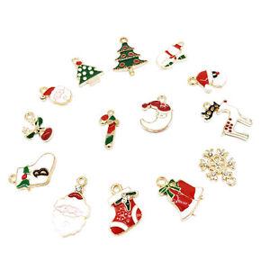 5pcs Hanging Ornaments Christmas Decoration Alloy Metal Tree