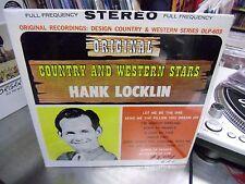 Hank Locklin Original Country and Western Stars vinyl LP Design Records Sealed