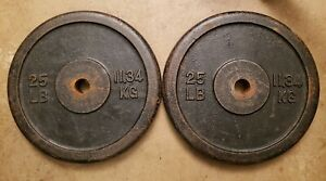 Pair-of-25LB-Barbell-Weight-Plates-Standard-size-50lbs-total