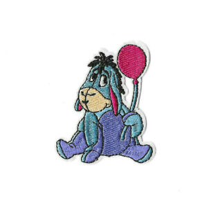 EEYORE-Iron-on-Sew-on-Patch-Embroidered-Badge-Cartoon-Winnie-the-Pooh-PT498