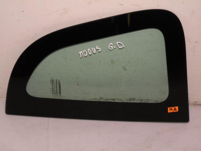 RENAULT GRAND MODUS 2006 1.2 PETROL LHD REAR RIGHT QUARTER WINDOW GLASS