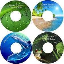 Natural Sounds Relaxation Deep Sleep Relief Stress 4 CD Healing Calming Nature