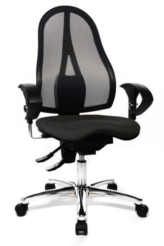 Bürostuhl Schreibtischstuhl Drehstuhl Topstar Sitness 15 anthrazit grau B-Ware