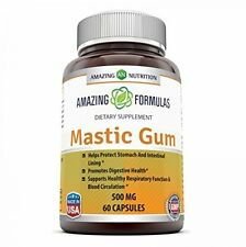 Amazing Nutrition Mastic Gum 500 Mg 60 Capsules - Supports Gastrointestinal And