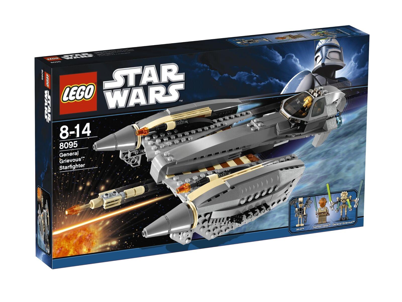 LEGO Star Wars Wars Wars 8095 - General Grievous - Starfighter  I3E  a8c8c3
