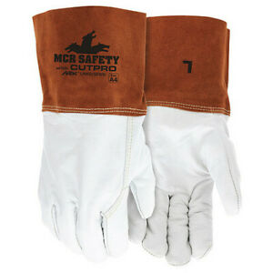 Mcr Safety 4955Hxl Welding Leather Glove,Gauntlet,Xl,Pk12
